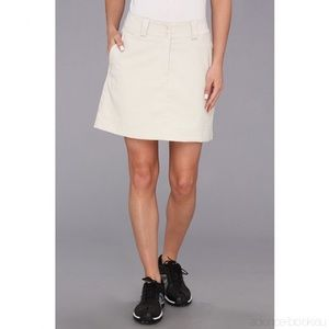 Nike Golf Dri Fit Performance Khaki Skort Skirt